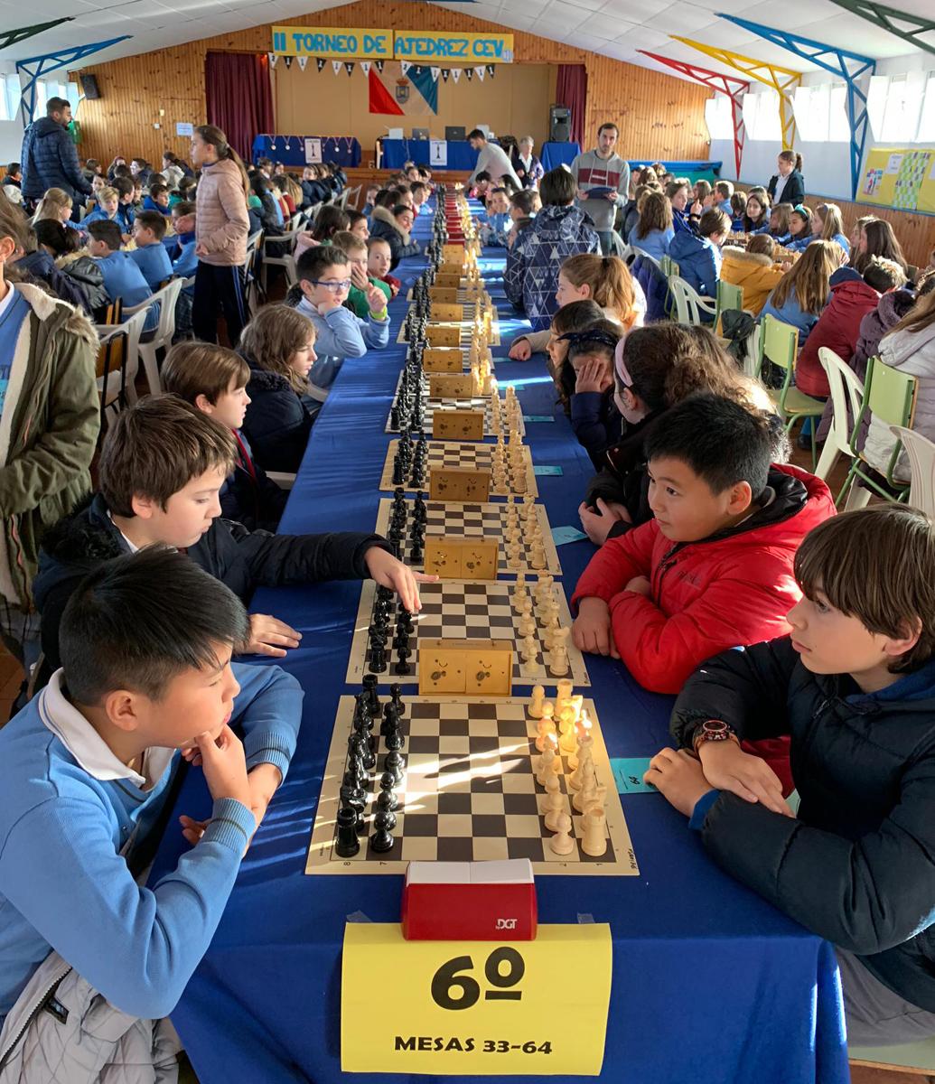 Capablanca reúne en Polanco a 270 escolares vivencianos