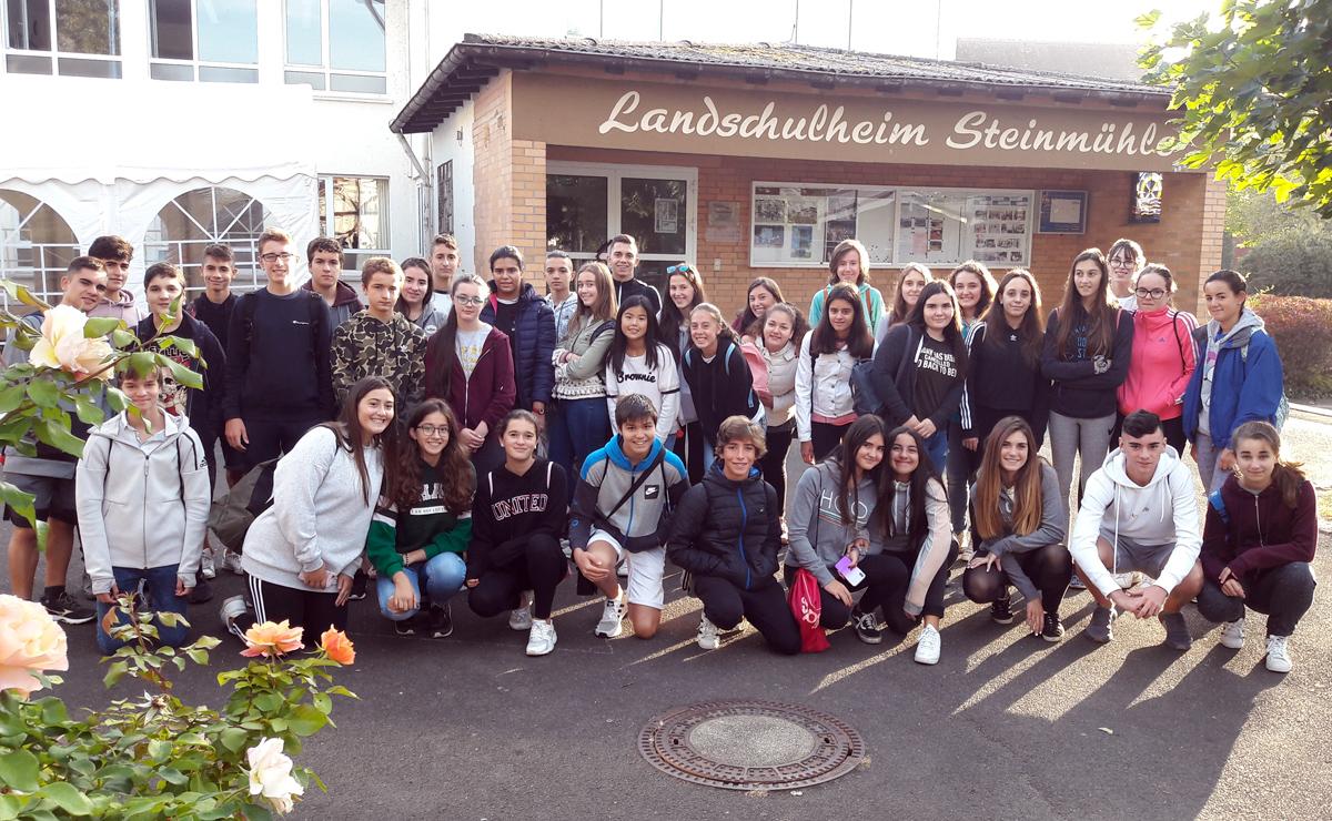 Intercambio cultural con un colegio de Marburg