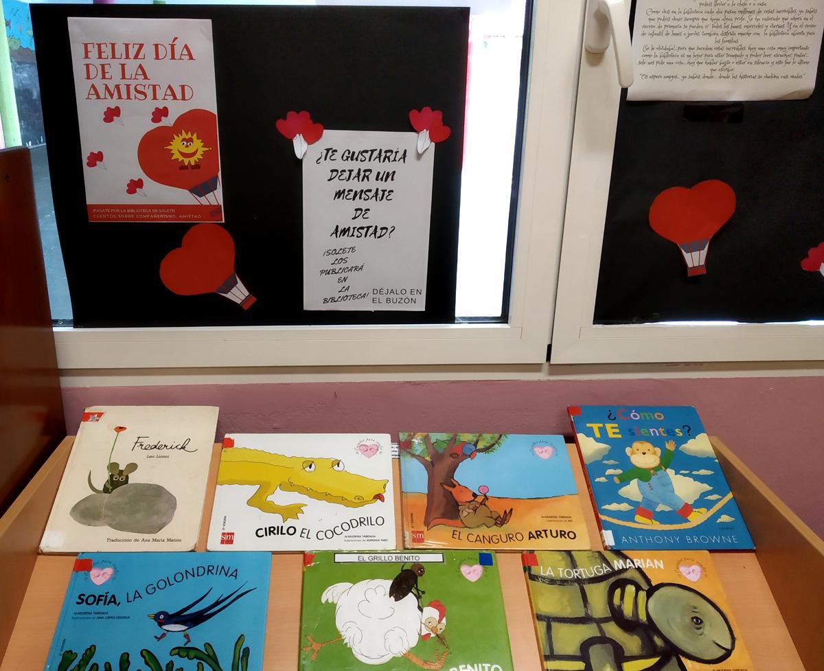 'Solete' nos invita a celebrar en su biblioteca el Día de la Amistad