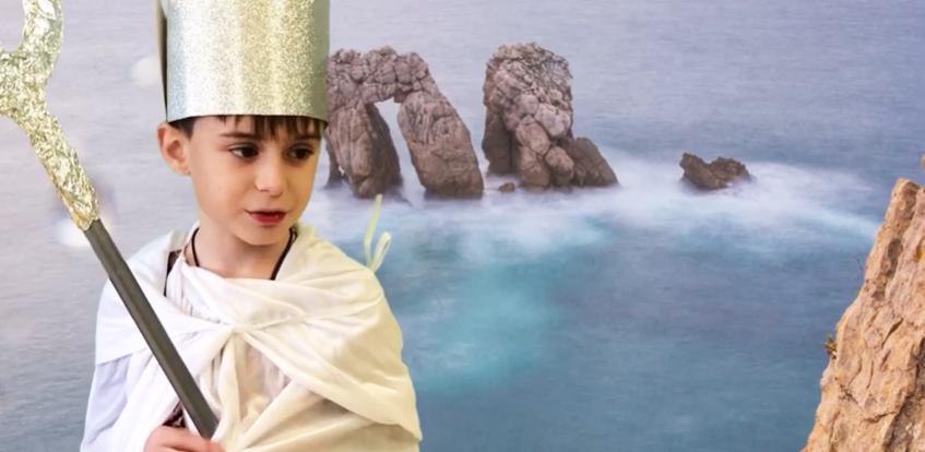Mitología cántabra en 'Cuento para un solsticio de invierno'