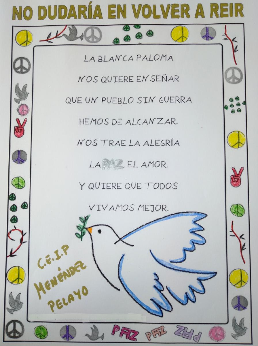Canciones, lecturas y juegos para celebrar el Día de la Paz