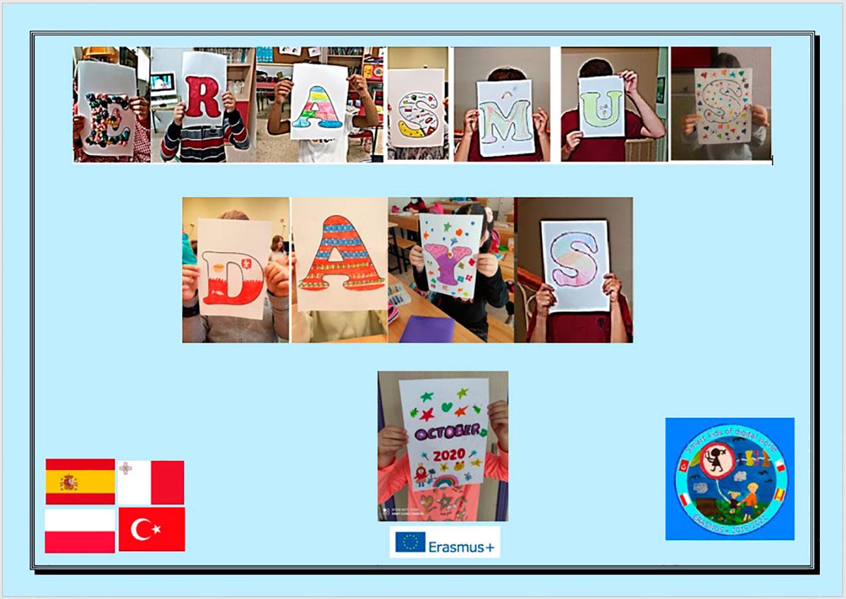 El CEIP Mata Linares participa en las actividades de los #ErasmusDays