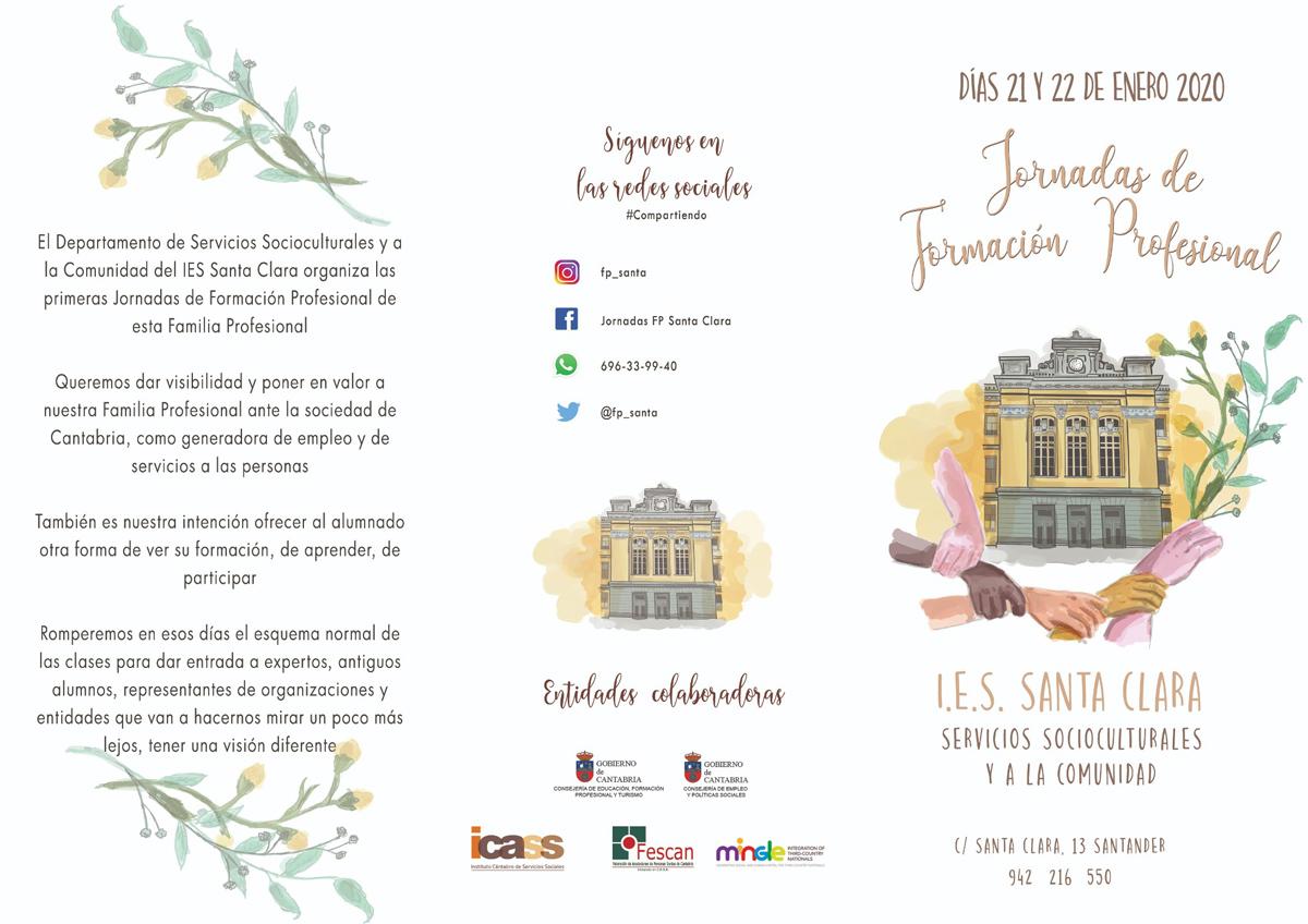 Jornadas de Formación Profesional en el IES Santa Clara