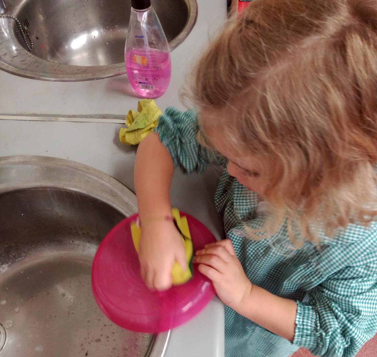 El trabajo doméstico, una tarea de todos