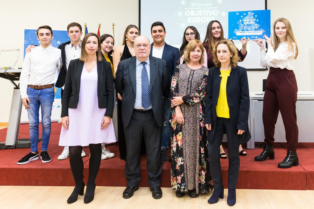 El IES El Astillero gana el premio 'Objetivo Europa' con 'Viento sur'