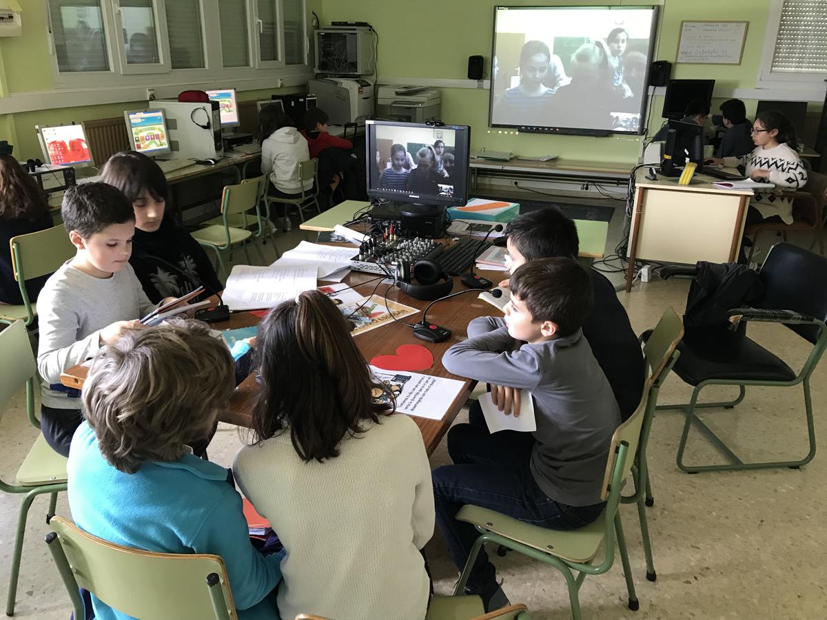 'Eurokids 24 News', un proyecto Erasmus+ coordinado por el CEIP Marina de Cudeyo