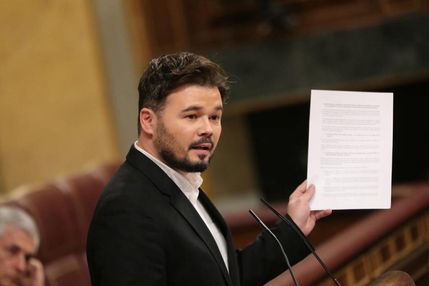 """Gabriel Rufián: """"La política hoy en día se hace en un plató de televisión"""""""