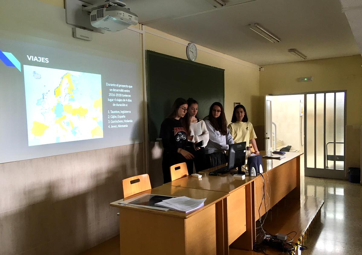 El IES Torres Quevedo difunde su proyecto Erasmus+